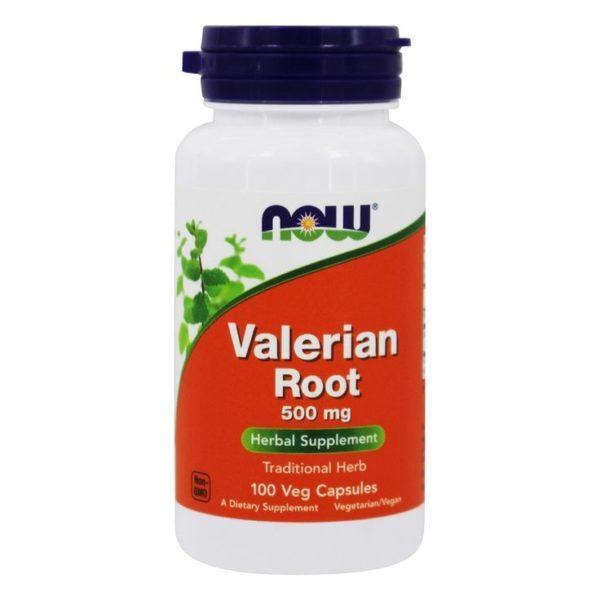 NOW Valerian Root 500mg (100vegCaps)