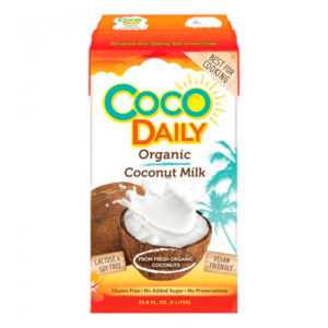 COCO DAILY органическое кокосовое молоко 17-19% жирности 1000мл