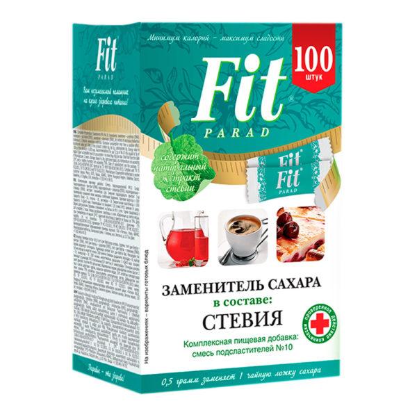 Fit Parad заменитель сахара №10 (100саше.)