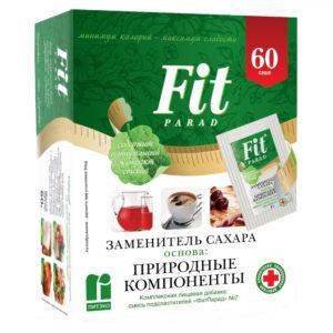 Fit Parad заменитель сахара №7 (60саше.)