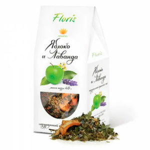 Floris Чайный напиток яблоко и лаванда