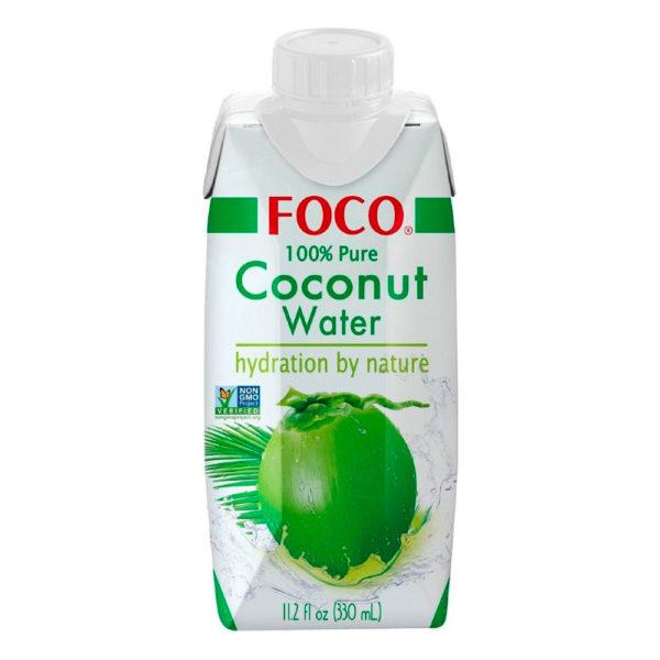 FOCO 100% Natural Coconut Water (330ml)