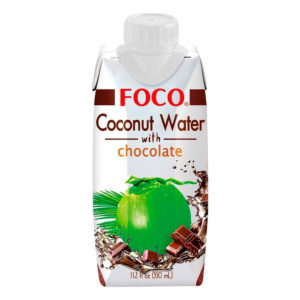 FOCO Coconut Water with Chocolate (330ml)