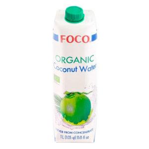 FOCO Organic Coconut water (1L)