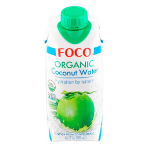 FOCO Organic Coconut water (330ml)