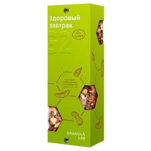 "GRANOLA LAB Granola G2 ""Шоколадно-дынная формула"" box"
