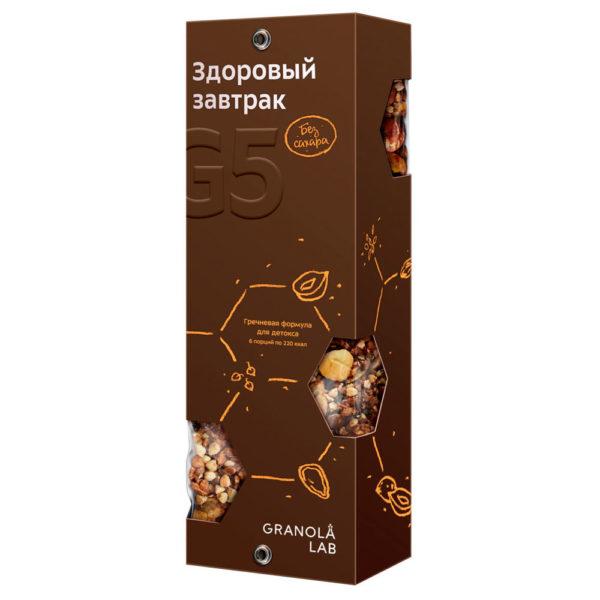 "GRANOLA LAB Granola G5 ""Гречневая формула"" box"