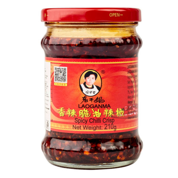 LAO GAN MA Острый соус с хрустящим перцем чили