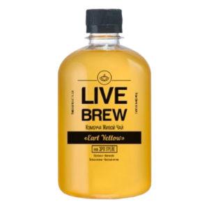 """Live Brew Комбуча Живой Чай """" Earl Yellow """"(520мл пластик)"""