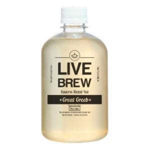 "Live Brew Комбуча Живой Чай ""Great Greeb' Original (520мл пластик)"