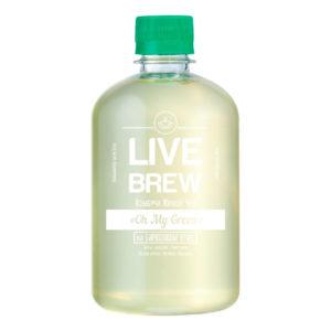 """Live Brew Комбуча Живой Чай """" Oh My Green' на бирюзовом улуне (520мл пластик)"""