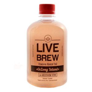 "Live Brew Комбуча Живой Чай "" OoLong Island' на молочном улуне (520мл)"