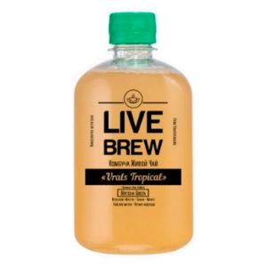 "Live Brew Комбуча Живой Чай ""Urals Tropical' (520мл пластик)"