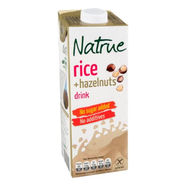 Natrue rice hazelnuts drink 1000ml