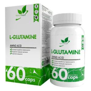 Natural Supp L-GLUTAMINE (60caps)
