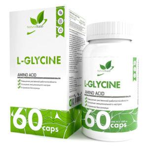 Natural Supp L-GLYCINE (60caps)