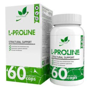 Natural Supp L-Proline 500mg (60caps)