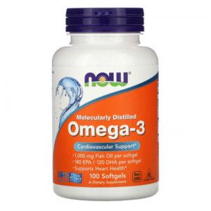 NOW Omega-3 1000 мг. (100 sgels)