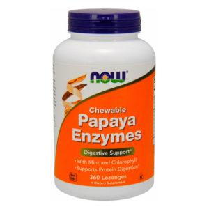 NOW Papaya Enzymes (360 tabs)