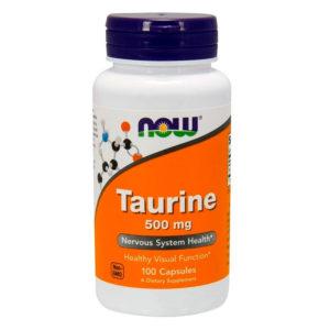 NOW Taurine 500 мг (100 капс)