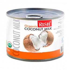 Organic RISH органическое кокосовое молоко 17-19% жирности 225мл