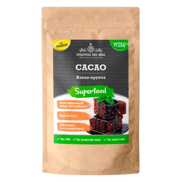 Продукты XXII века Какао крупка