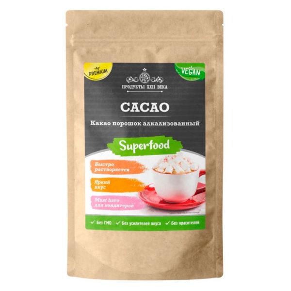 Продукты XXII века Какао порошок алкализованный