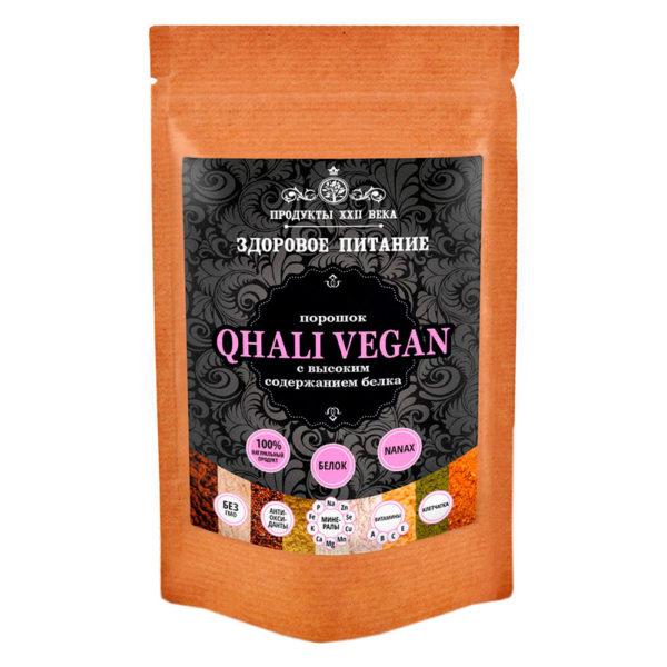 Продукты XXII века QHALI VEGAN c высоким содержанием белка