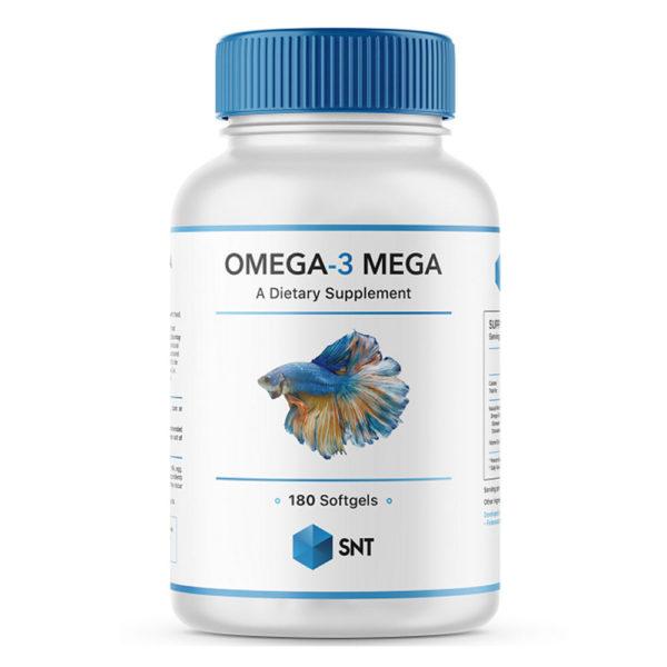 SNT Omega-3 Mega 1000mg (180 soft)