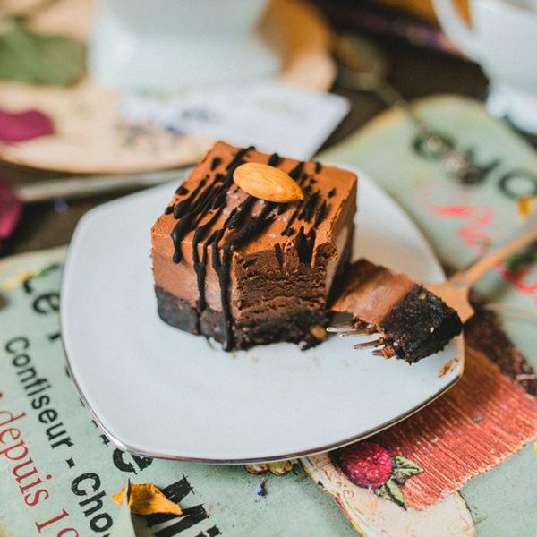 TRAWA Тройной шоколад
