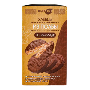 ВАСТ ЭКО Хлебцы из полбы в шоколаде