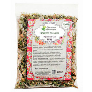 WellFoods Крымский травяной чай грудной бальзам